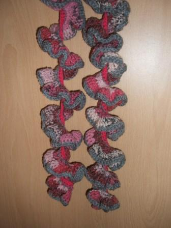Curly Wurly Scarf Hanging