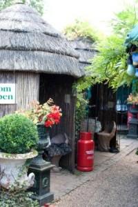 Tea huts