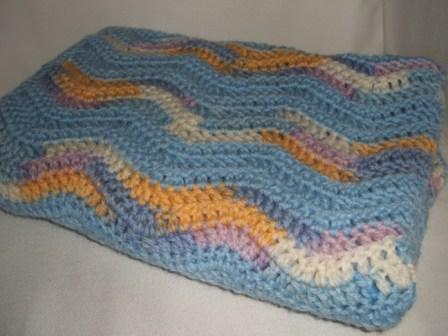 Baby blanket folded