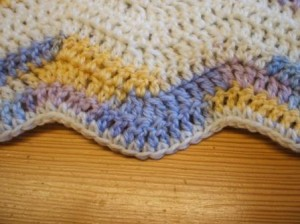 Erin's blanket close up