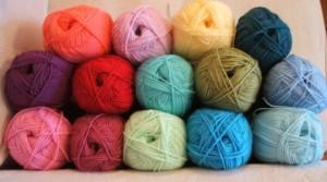 Granny stripe blanket yarn