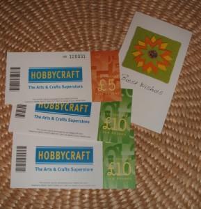 Hobbycraft Vouchers