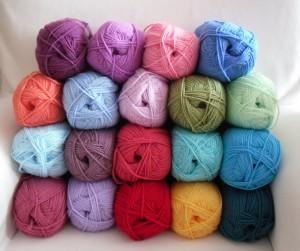 More blanket yarn
