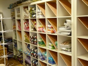 wool shelving