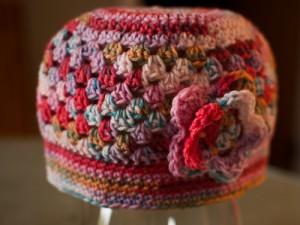 Multi pastel hat